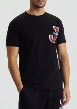 Черная футболка J.B4 Just Before с логотипом, фото