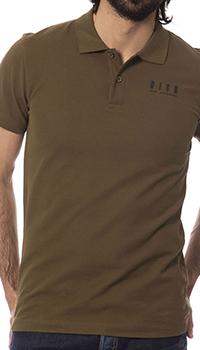 Мужское поло John Richmond цвета хаки, фото