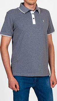 Поло Trussardi Jeans серого цвета, фото