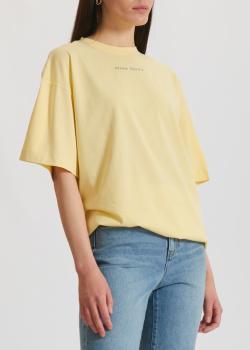 Желтая футболка Miss Sixty свободного кроя, фото