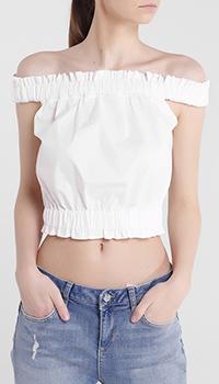 Короткий топ Blugirl Blumarine со спущенными плечами, фото