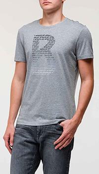 Мужская футболка Bogner серого цвета, фото