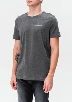 Серая футболка Bogner с логотипом, фото
