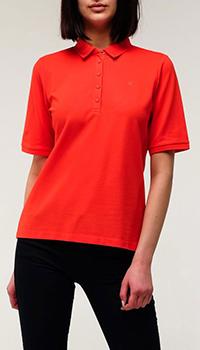 Женское поло Bogner оранжевого цвета, фото