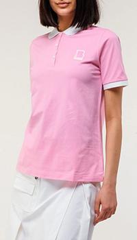 Женское поло Bogner розового цвета, фото