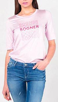 Футболка Bogner с фирменной надписью , фото