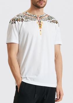 Белая футболка Marcelo Burlon Grizzly Wings, фото