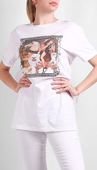 Женская футболка Silvian Heach с принтом, фото