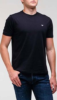 Набор из двух футболок Emporio Armani синего цвета, фото