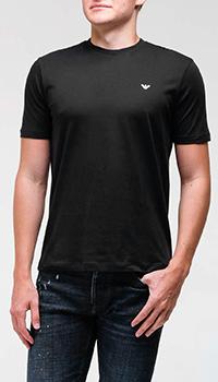 Набор из двух футболок Emporio Armani черного цвета, фото