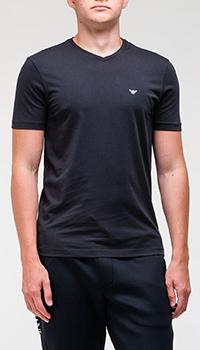 Набор футболок Emporio Armani из 2-х штук в синем цвете, фото