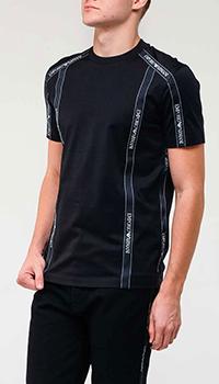 Мужская футболка Emporio Armani с полосами, фото