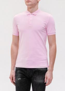 Футболка-поло Emporio Armani розового цвета, фото