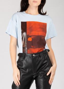 Белая футболка Frankie Morello с принтом, фото