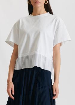Белая футболка Kenzo с широкими рукавами, фото