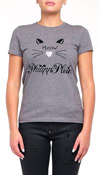 Женская футболка Philipp Plein с принтом, фото