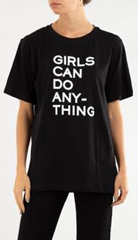 Черная футболка Zadig & Voltaire из хопка, фото