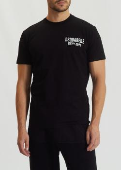 Мужская футболка Dsquared2 из хлопка, фото