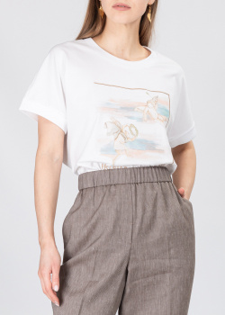 Женская футболка Peserico с изображением  ангелов, фото