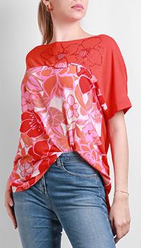 Туника VDP с цветочным принтом, фото