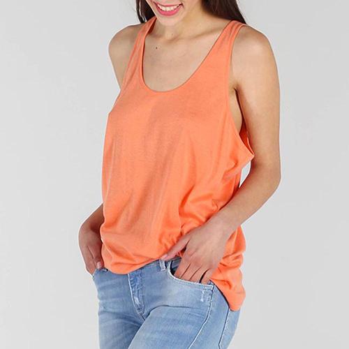 Майка Stella McCartney оранжевого цвета, фото