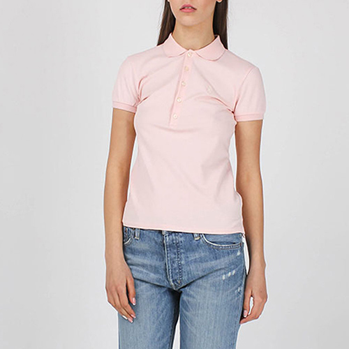 Футболка-поло Polo Ralph Lauren розового цвета, фото