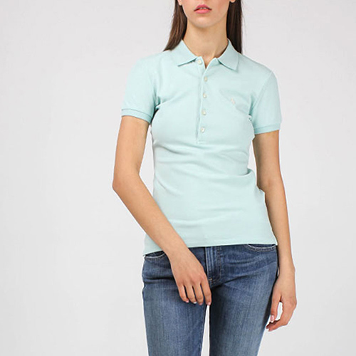 Футболка-поло Polo Ralph Lauren мятного цвета, фото