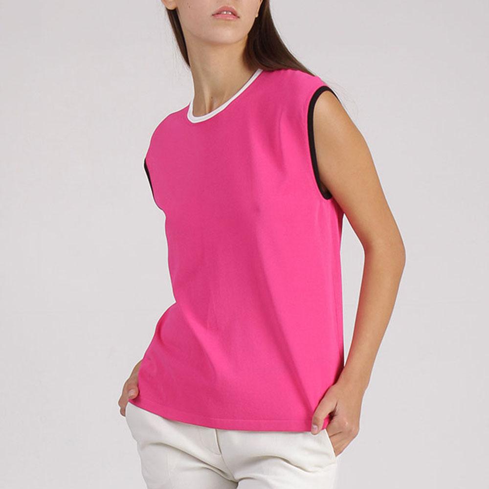 Трикотажный топ Emilio Pucci розового цвета
