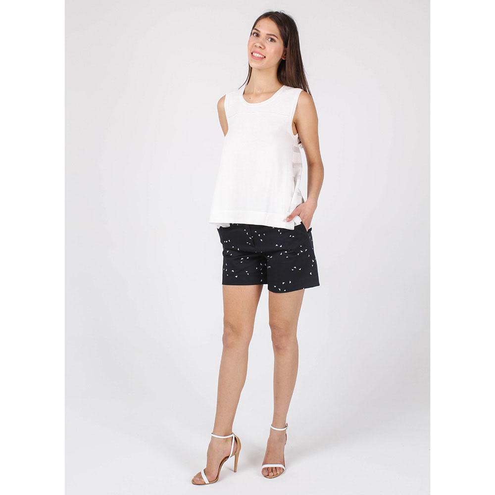 Топ Armani Jeans из мягкого трикотажа белого цвета