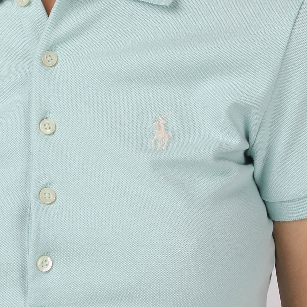 Футболка-поло Polo Ralph Lauren мятного цвета