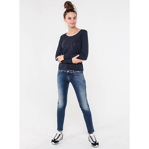 966869c2cb64 ☆ Футболка с длинным рукавом Armani Jeans со стразами 6Y5T46-5JABZ ...