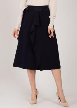 Темно-синяя юбка Riani средней длины, фото