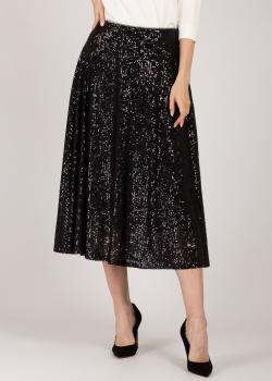 Черна юбка-миди Riani с пайетками, фото