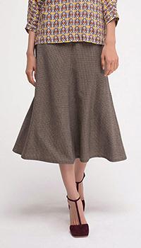 Шерстяная юбка Shako с высокой посадкой, фото