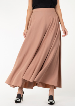 Трикотажная юбка-миди Nina Ricci с карманами, фото
