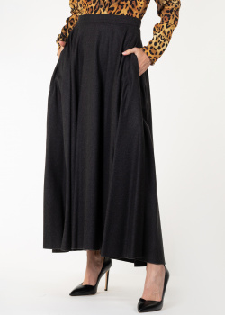 Трикотажная юбка Nina Ricci в сером цвете, фото