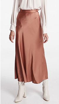 Коричневая юбка-миди Shako, фото