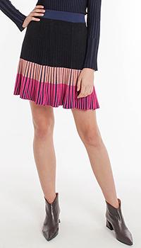 Плиссированная юбка Pinko с высокой талией на резинке, фото