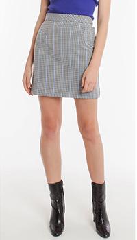 Мини-юбка Pinko с мелким узором, фото