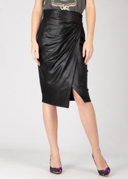 Черная юбка Pinko с разрезом, фото