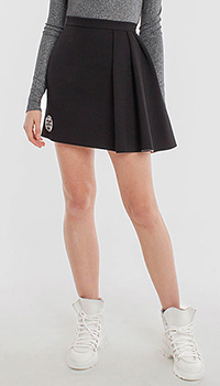 Мини-юбка Pinko с боковой драпировкой, фото