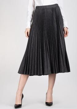 Плиссированная юбка Michael Kors в клетку, фото