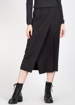 Трикотажная юбка Allude с разрезом, фото