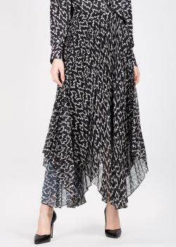 Плиссированная юбка Isabel Marant с асимметричным подолом, фото