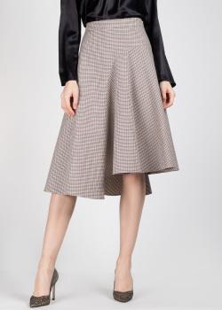 Шерстяная юбка Rochas с асимметричным подолом, фото