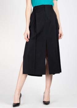 Черная юбка Nina Ricci с разрезами, фото