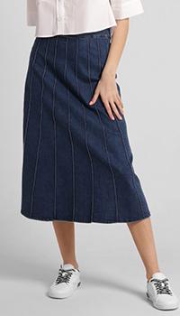 Джинсовая юбка Riani синего цвета, фото