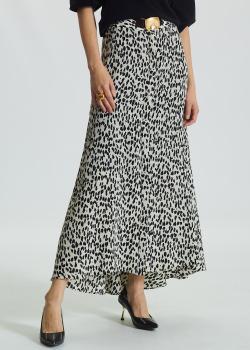 Шелковая юбка Dorothee Schumacher Wild Moment с интегрированным поясом, фото