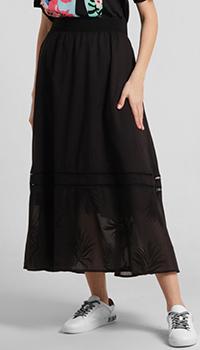 Юбка Riani с кружевом черного цвета, фото