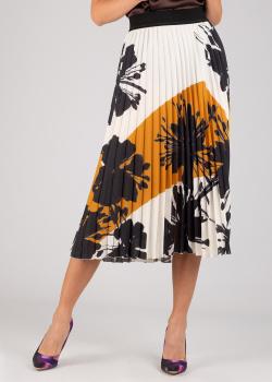 Плиссированная юбка Luisa Cerano с цветочным принтом, фото